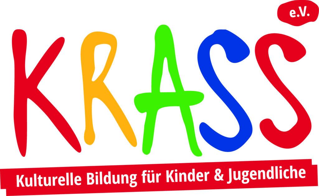 """""""Krass e.V. Kulturelle Bildung für Kinder und Jugendliche"""" Logo"""